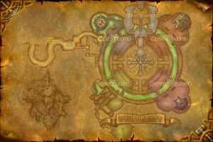 Map of the Undercity
