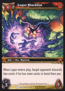 Logor Blackfist TCG Card.jpg