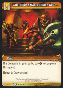 What Illidan Wants, Illidan Gets TCG Card.jpg