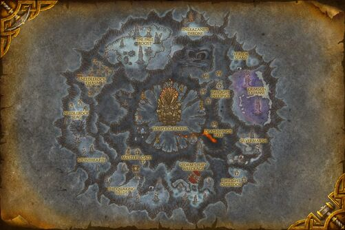 Deepholm map