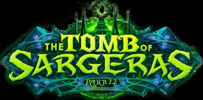 The Tomb of Sargeras logo