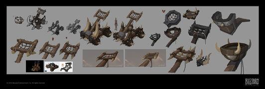 Warbringers - Sylvanas Catapult concept.jpg