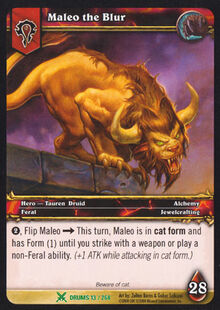 Maleo the Blur TCG Card.jpg