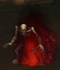 Image of Smoldering Skeleton