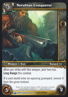Nerubian Conqueror TCG Card.jpg