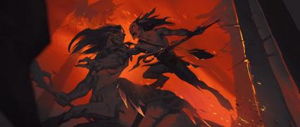 Afterlives - Ara'lon vs Wild Hunt.png