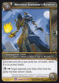 Merciless Gladiator's Raiment TCG Card.jpg