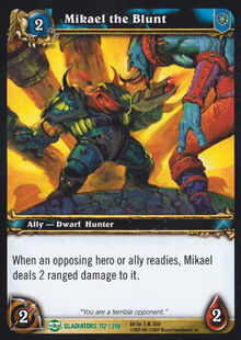 Mikael the Blunt TCG Card.jpg