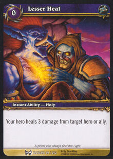 Lesser Heal TCG Card.jpg