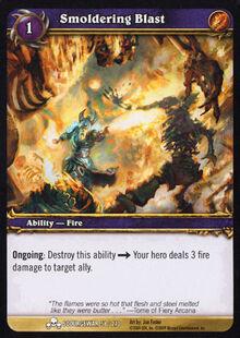 Smoldering Blast TCG Card.jpg