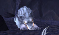 Image of Captured Frost Wolf