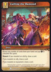 Culling the Damned TCG Card.jpg