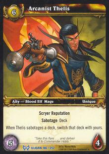 Arcanist Thelis TCG Card.jpg