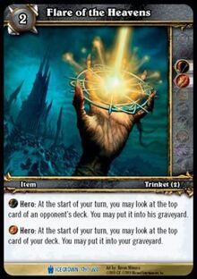 Flare of the Heavens TCG Card.jpg