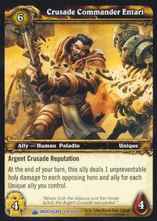 Crusade Commander Entari TCG Card.jpg