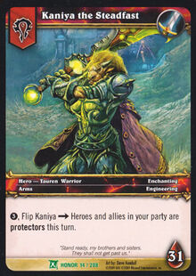 Kaniya the Steadfast TCG Card.jpg