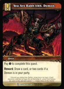You Are Rakhlikh Demon TCG Card.jpg