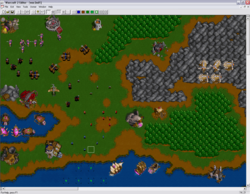 Warcraft II - Screen Prerelease World Editor.png