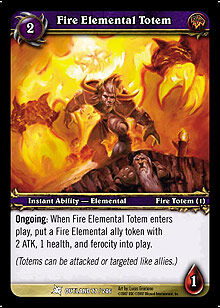 Fire Elemental Totem TCG Card.jpg