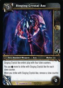 Singing Crystal Axe TCG Card.jpg