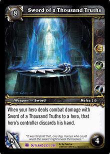 Sword of a Thousand Truths TCG Card.jpg