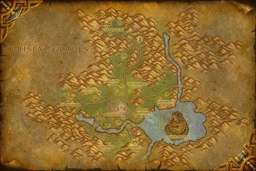 Western Plaguelands map