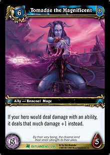 Tomadae the Magnificent TCG Card.jpg