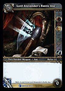 Lord Alexanders Battle Axe TCG Card.jpg