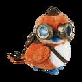 Traveler Pepe plush.png