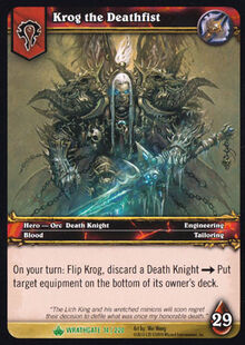 Krog the Deathfist TCG Card.jpg