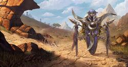 Warcraft III Reforged - Loading Screen Barrens Sentinels.jpg