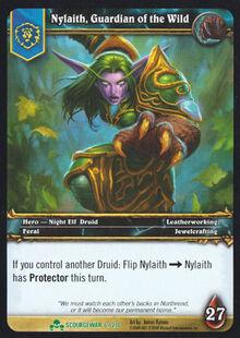 Nylaith, Guardian of the Wild TCG Card.jpg
