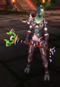 Image of Furious Raptari Druid