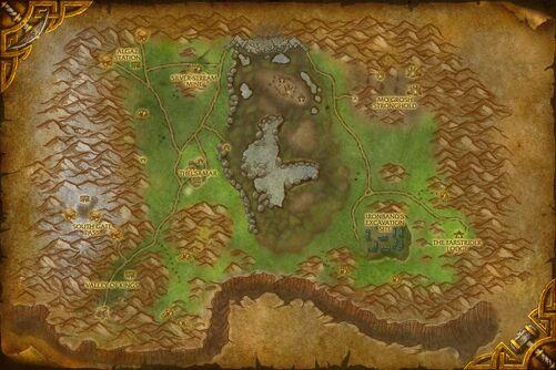 Loch Modan map