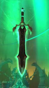Image of Glowing Runeblade