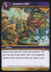 Landro's Gift TCG Card.jpg