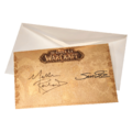 The World of Warcraft Pop-Up Book Collector's Edition certificate.png