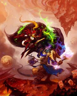 Blood Elf vs Draenei.jpg