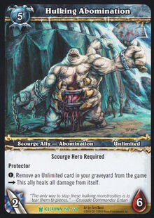 Hulking Abomination TCG Card.jpg