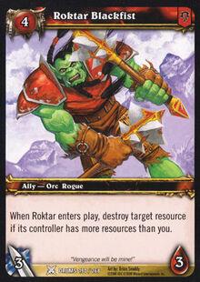 Roktar Blackfist TCG Card.jpg