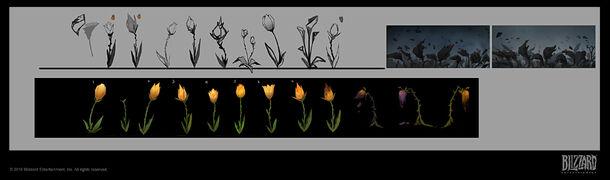Warbringers - Sylvanas Flower concept.jpg