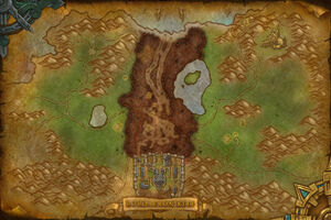 Map of the Battle for Lordaeron