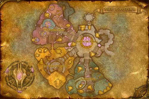 Exodar map