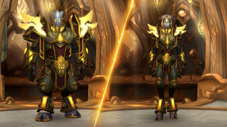 Heritage Armor Wowpedia Your Wiki Guide To The World Of Warcraft Still have to get to max level, level 60 with the squish. heritage armor wowpedia your wiki