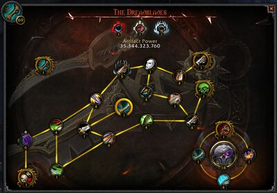 The Dreadblades interface.jpg