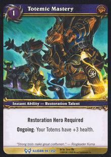 Totemic Mastery TCG Card.jpg
