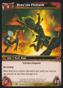 Kray'zin Firetusk TCG Card.jpg