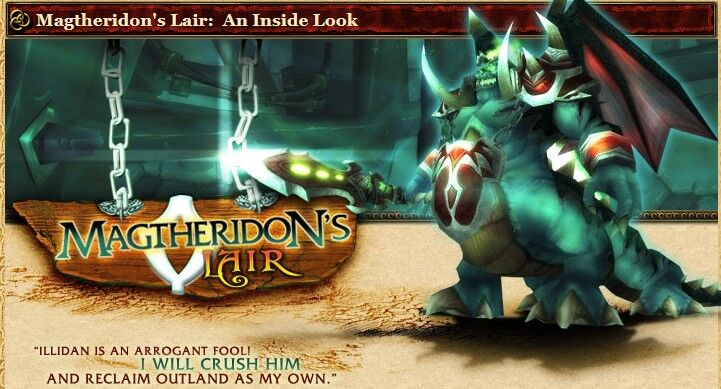 2004 Game Guide's Banner for the Magtheridon's Lair An Inside Look Article