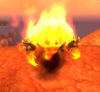 Imagen de Manifestación de fuego menor