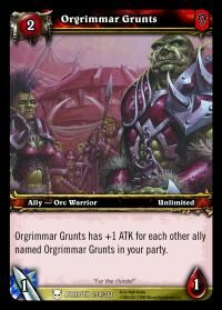 Orgrimmar Grunts TCG card.jpg